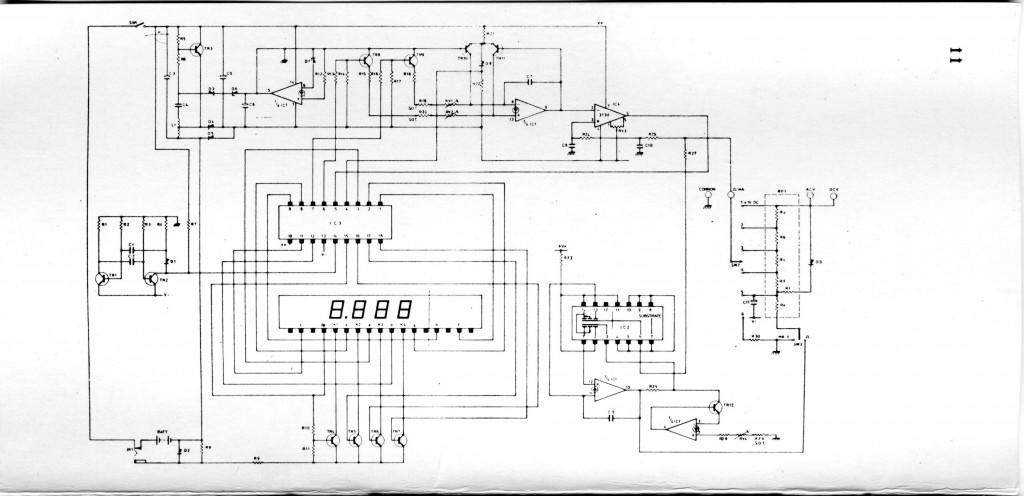 sinclair pdm35 multimeter teardown