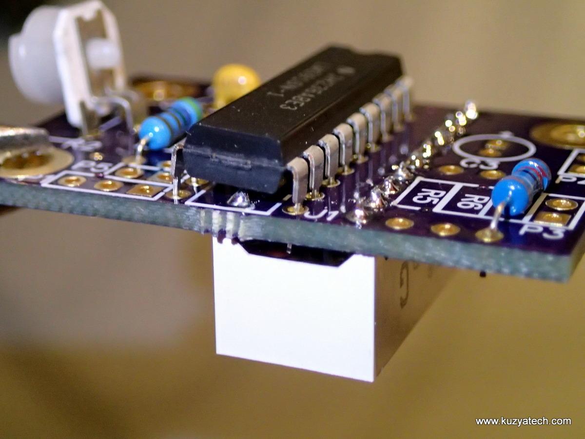Lm3916 Led Bargraph Vu Meter Kuzyatech 10 Bar Dot Circuit Based Lm3915 Install U1