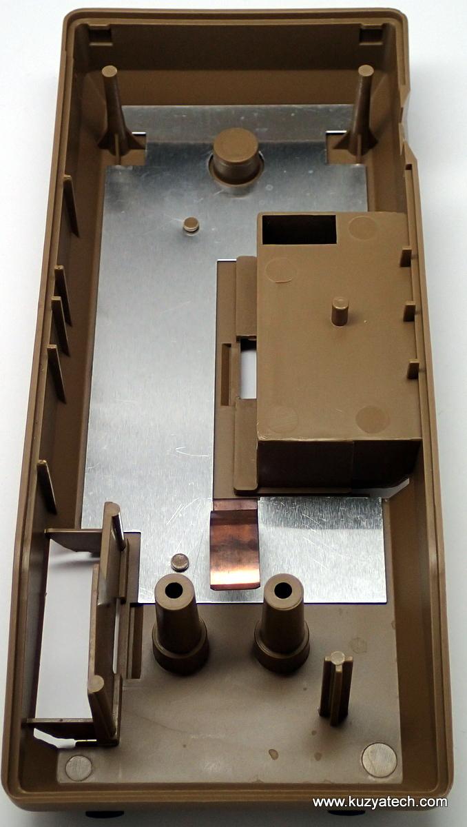 Case bottom- inside view