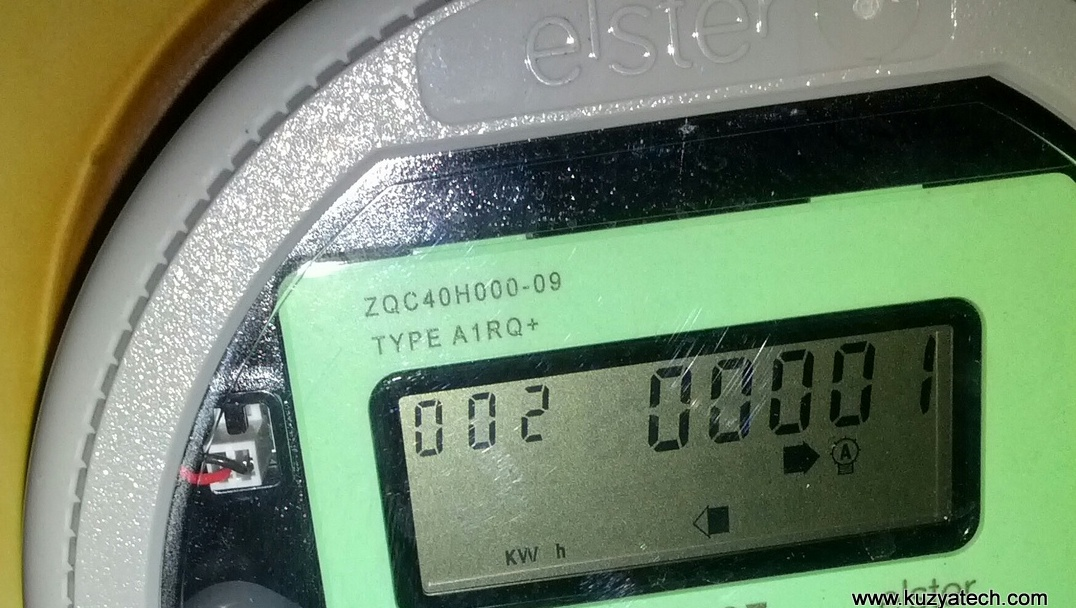 First kWh sent to grid