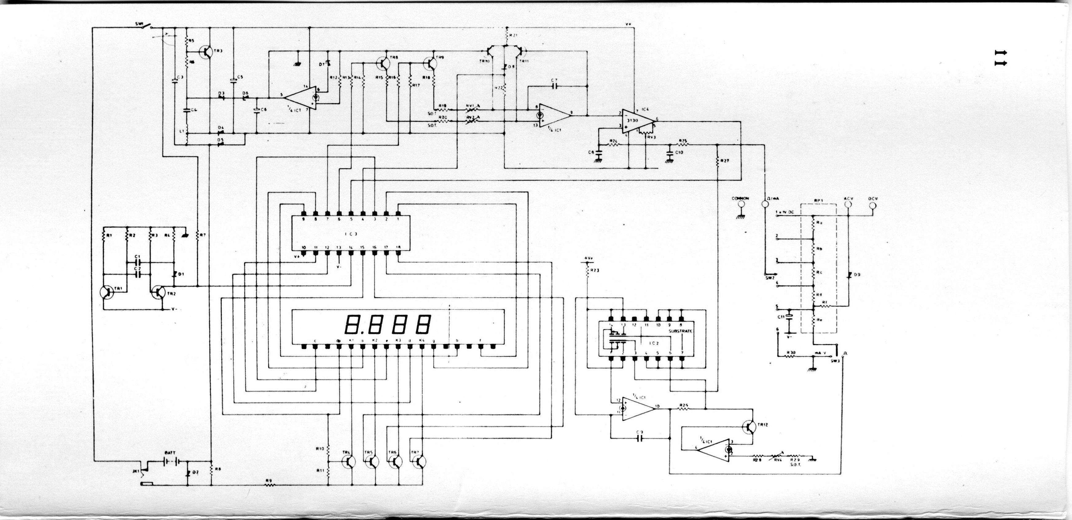 Sinclair PDM35 multimeter teardown | KuzyaTech